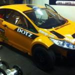 Mappning motoroptimering effektmätning dyno bänkning Rototest Ford Fiesta Drifting Daniel Björk