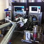 Mappning motoroptimering effektmätning dyno bänkning Rototest Fyrhjuling