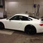 Mappning motoroptimering effektmätning dyno bänkning Rototest Porsche 911 997 GT3
