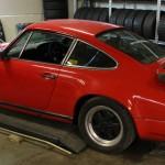 Mappning motoroptimering effektmätning dyno bänkning Rototest Porsche 911 SC