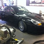 Mappning motoroptimering effektmätning dyno bänkning Rototest Porsche Boxter
